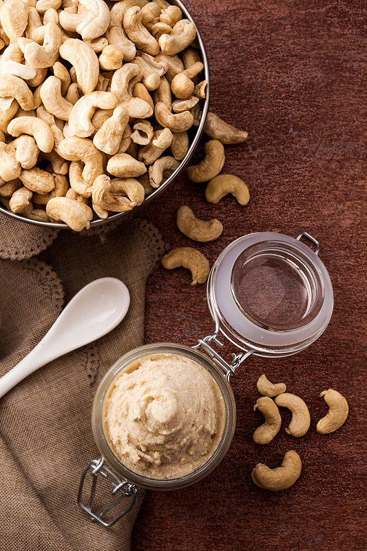 Recipe for Homemade Cashew Butter and its amazing variability
