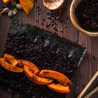 Black Pumpkin Sushi