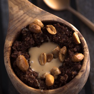 Chocolate Peanut Porridge
