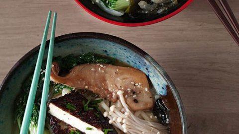 Basic recipe for ramen and onigirazu