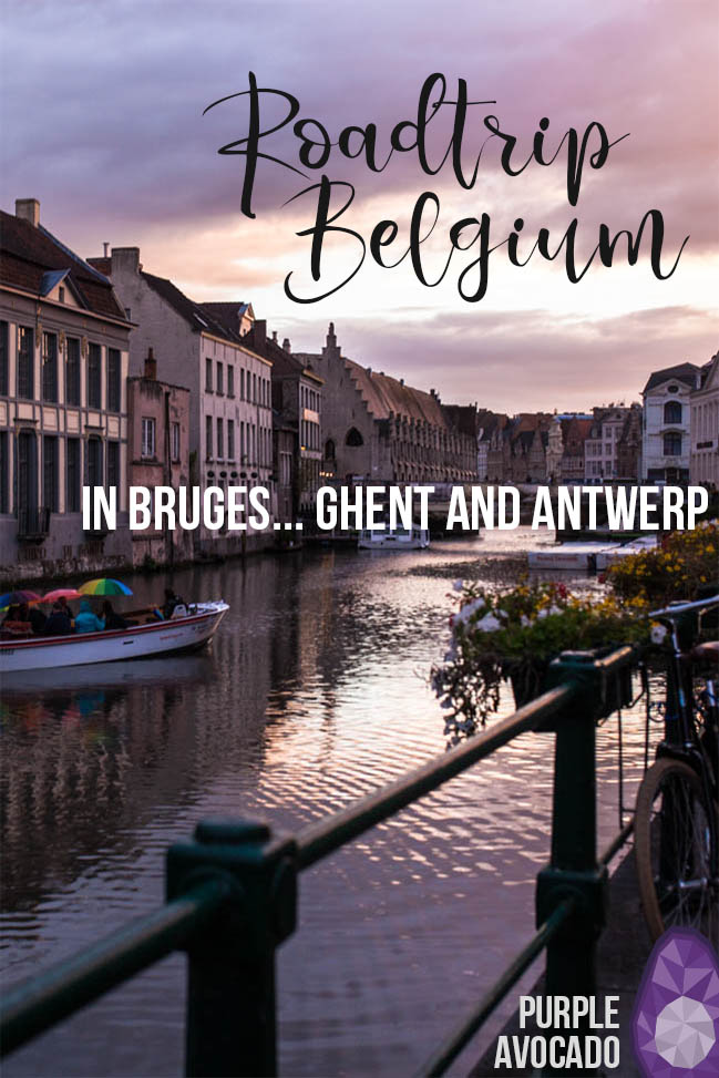 If you happen to have a long weekend before you, how about a spontaneous road trip to Belgium? In three days we visited Ghent, Bruges and Antwerp and slept at the beach. Culture, History, marvellous architecture and of course lots of Belgian food awaits you. #roadtrip #road #trip #tips #itinerary #route
