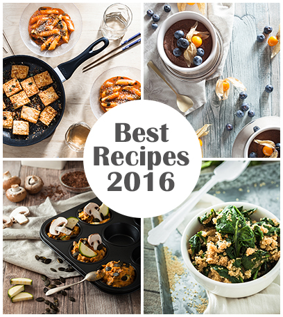 Top 20 Recipes 2016 from Purple Avocado - Vegan Chocolate Mousse with silken Tofu / Tofu Chocolate Dessert
