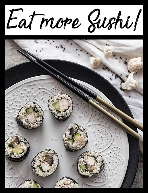 Eat more Sushi! Link zum Sushi Blog Archiv