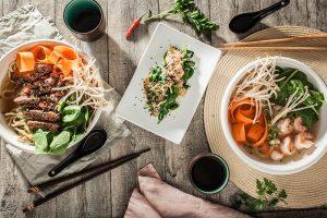 Food Fotografie und Foodstyling Auftragsarbeit für MoschMosch. Sabrina Dietz // Purple Avocado - Ramen
