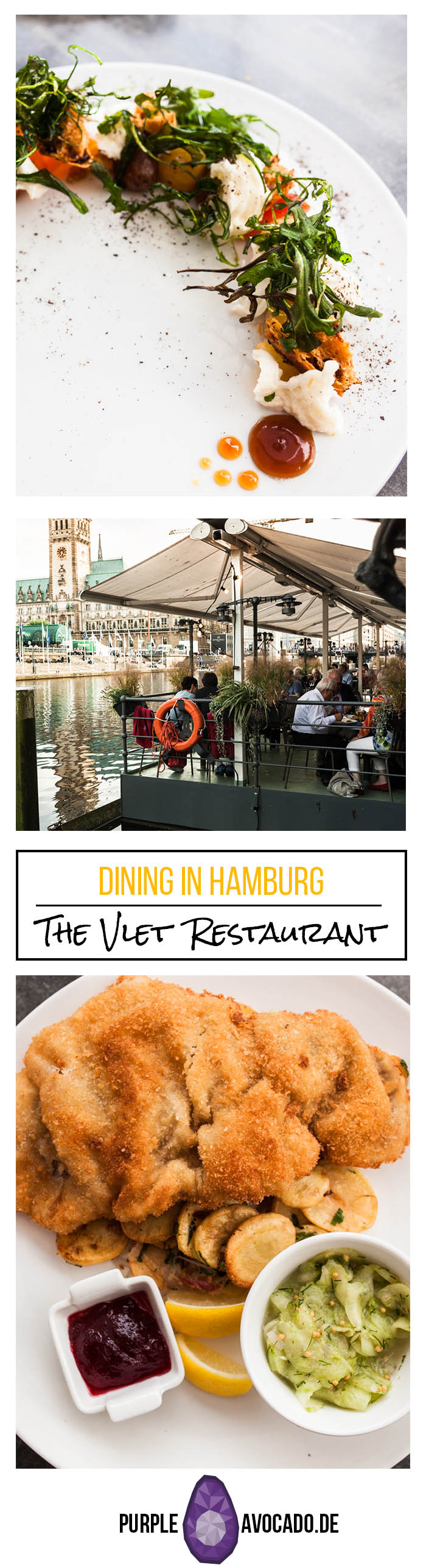 Restaurant Guide Hamburg - In Hamburg there are many, many places with good food. If you want to savour authentic Hamburg cuisine I'm sending you directly to the Vlet at the Alster. #restaurant #europe #germany #food #city #guide #hamburg