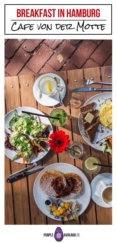 What to eat in Hamburg: Breakfast at the Café von der Motte in Hamburg Altona / Ottensen. #restaurant #hamburg #breakfast #tips #citytrip #foodphotography #food