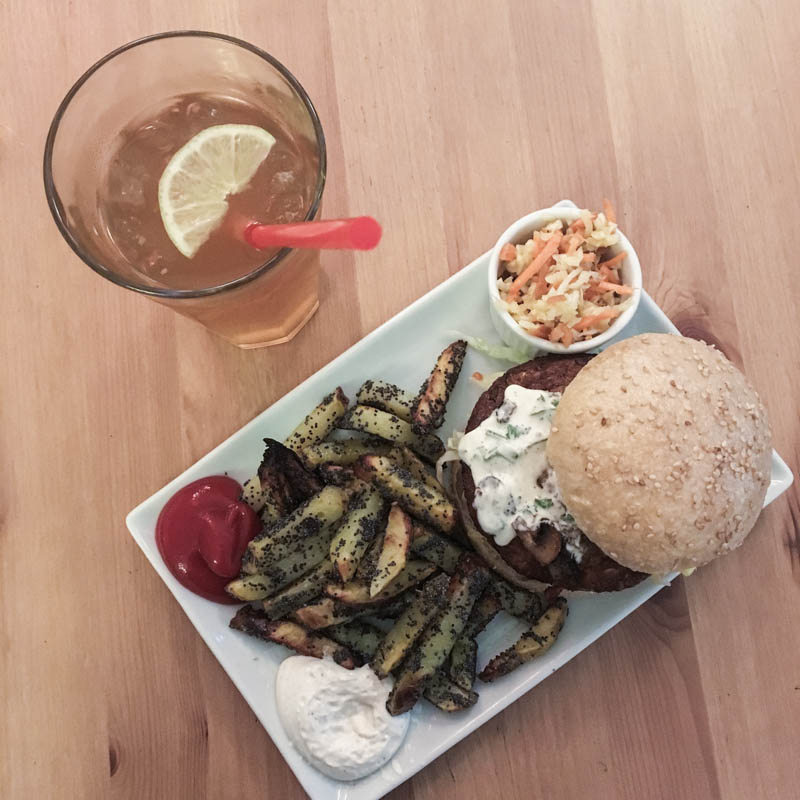 Vegan Burgers in Hamburg, Fränzi