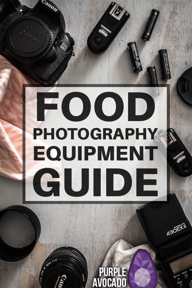 My food photography equipment - tips and recommendations for lamps, flahes and natural light as well as technical equipment suitable for beginners in food photography. #gear #guide #foodstyling #food #styling
