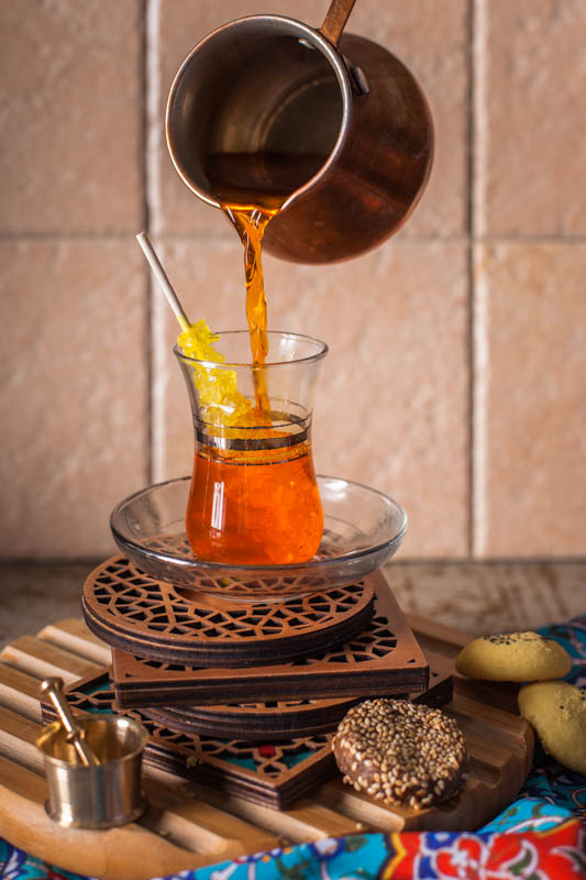 Chai Zaferani – Saffron Tea