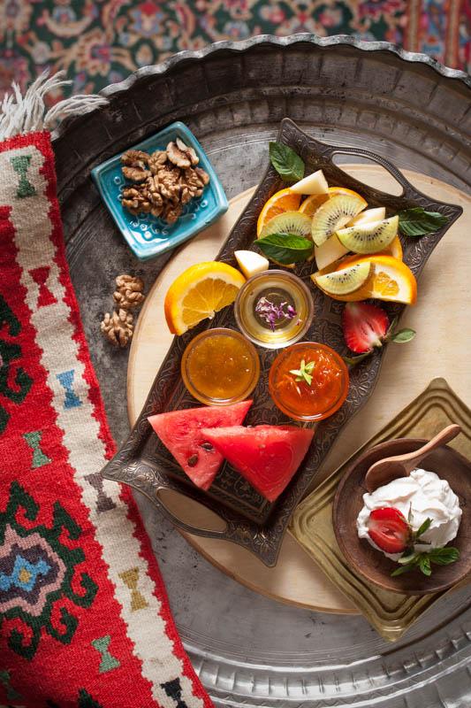 Khame moraba ba asal – Iranischer Obstsalat