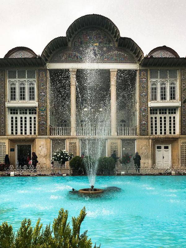 Kadscharen Palast in Eram Garden, Schiras