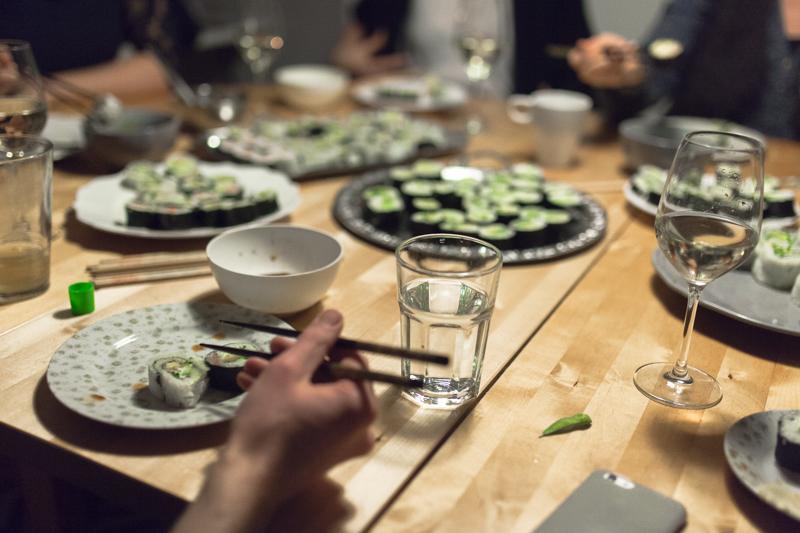 Sushi Abend für große Gruppen – Tipps zur Organisation und Planung, Mengenkalkulation, Rezepte und Einkaufszettel
