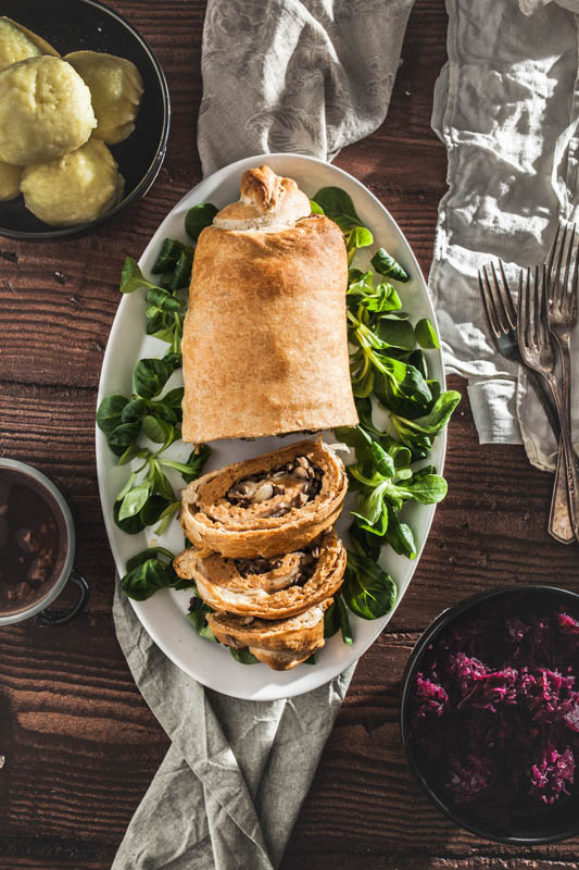 Vegan Seitan Recipe for christmas roast