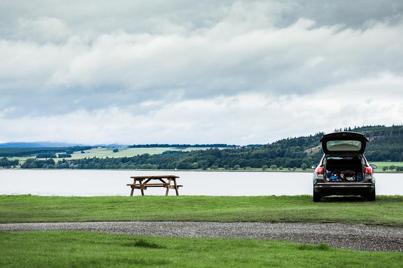 Die 7 schönsten Campingplätze Schottlands. Inverness: Bunchrew Caravan Park