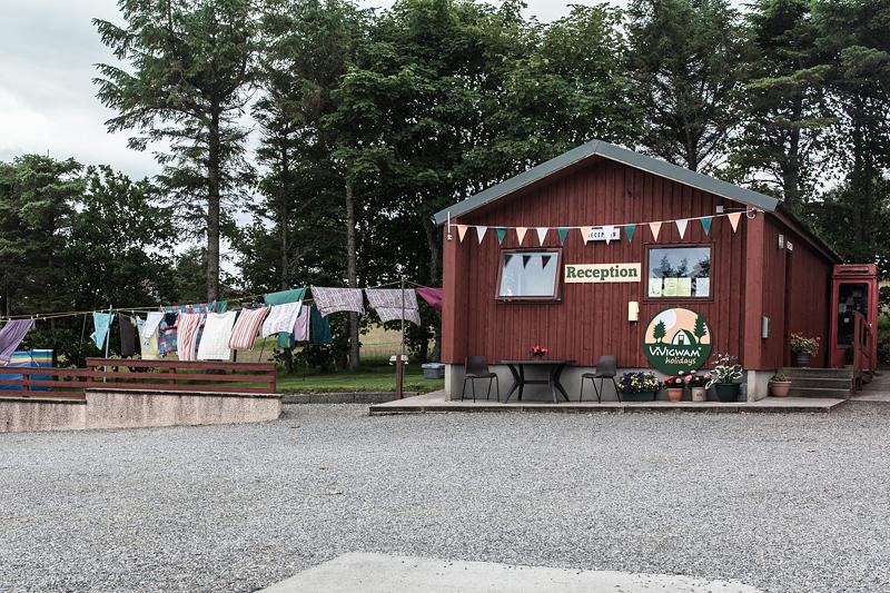 7 schöne Campingplätze in Schottland und auf den äußeren Hebriden. Stornoway: Laxdale Holiday Park