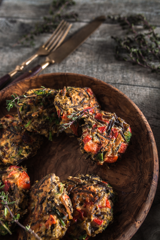 Wild Rice Patties from the Ethno Cookbook