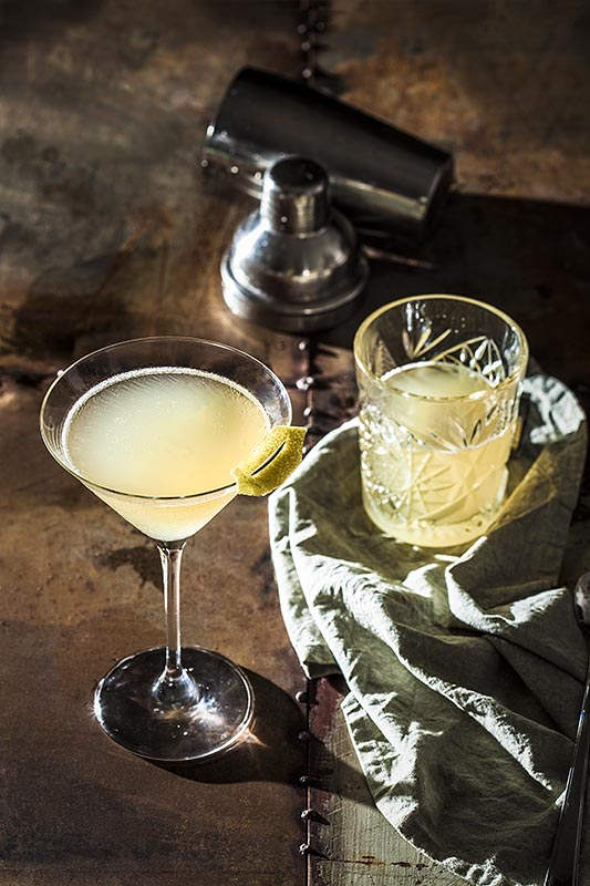 Camerons Kick – Whisky Cocktail with almond and lemon
