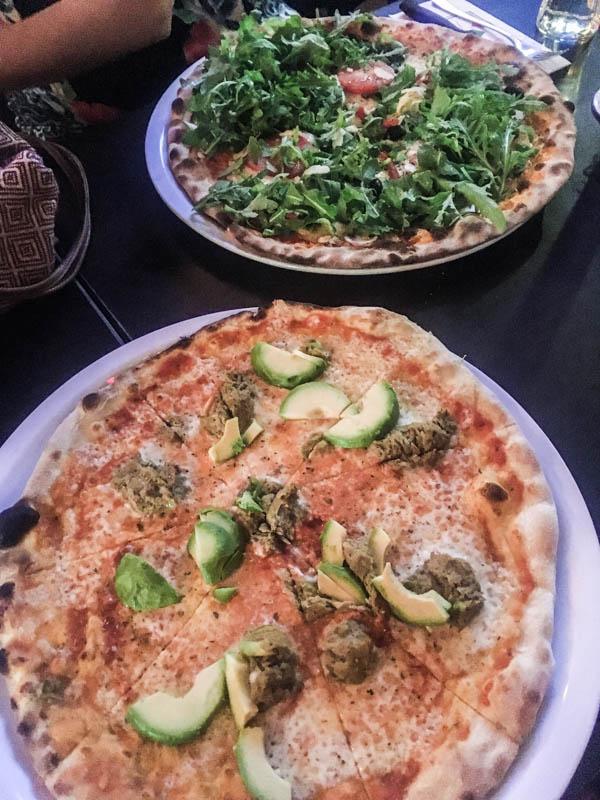 The best pizza in Hamburg at Luigi's in the Portuguese Quarter
