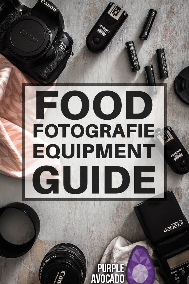 Meine Food Fotografie Ausrüstung - Tipps und Empfehlungen für Dauerlicht, Blitzlicht, Tageslicht und technisches Food Fotografie Equipment