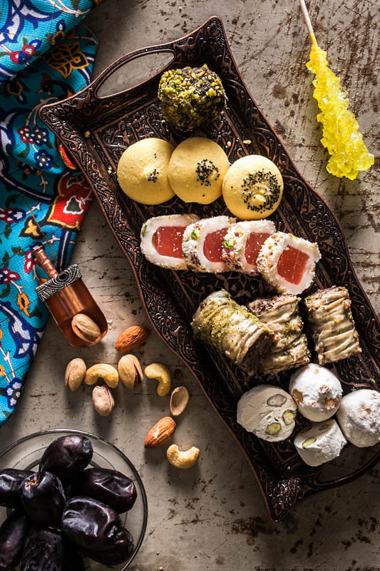 Shirini sonati irani – traditional Iranian sweets