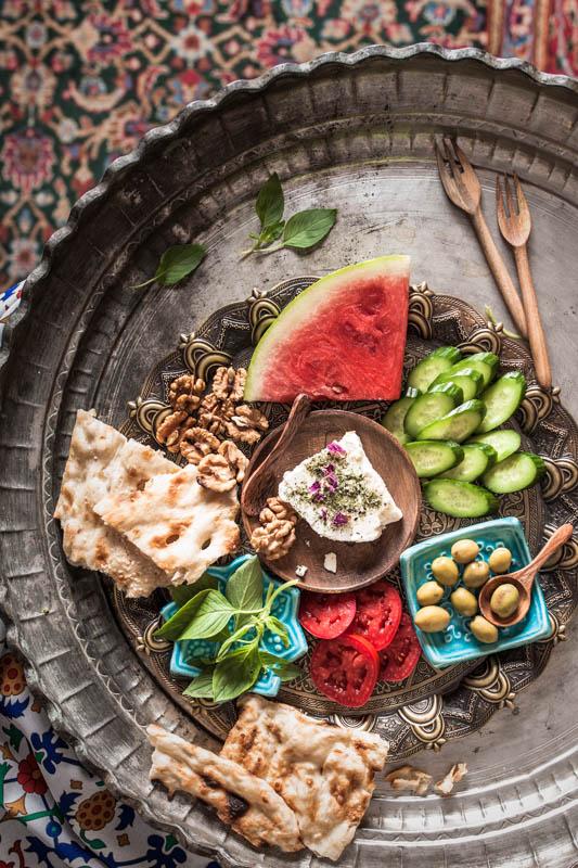 Sobhaneye sonati irani – traditional Iranian breakfast