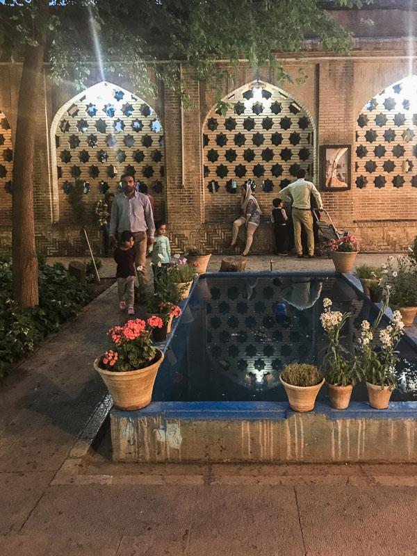 pool at Hafez Memorial