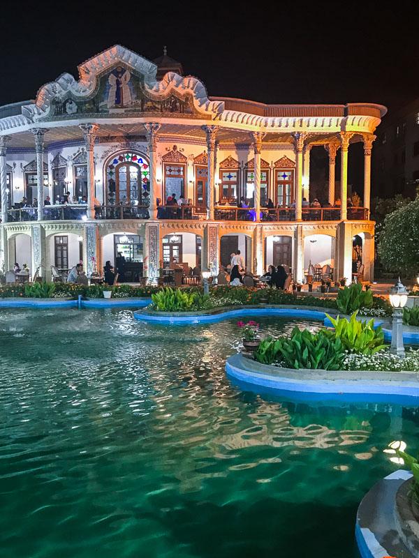 Shahpouri Mansion in Shiraz, Iran