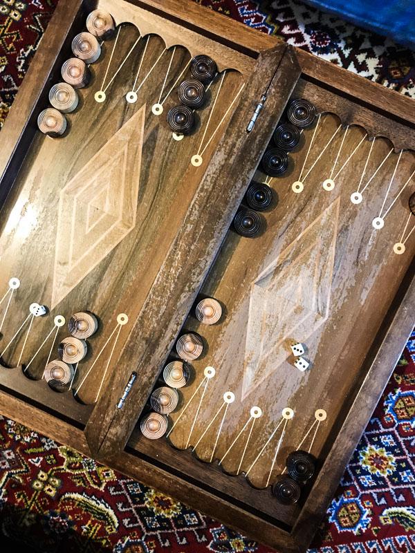 Backgammon Spiel