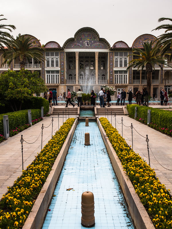 Kadscharen Palast Eram Garden, Schiras